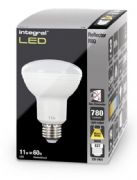 R80 Reflector LED Bulb | 60W Equivalent | Warm White | E27 Non-Dimmable Lamp